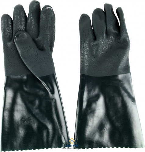 PVC coated work gloves